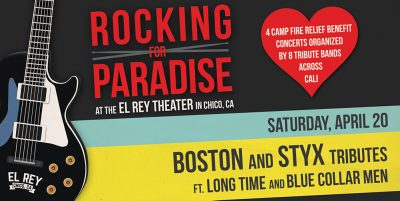 Rocking For Paradise - 4/20/19 at The El Rey Theater in Chico, CA